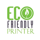 Eco Friendly Printer Logo