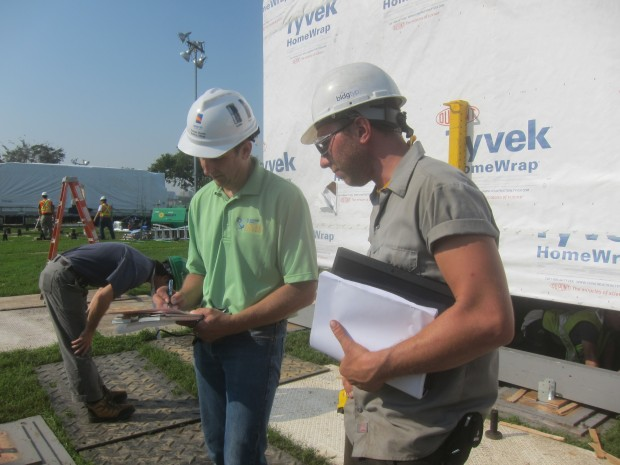 our first foundation inspection approval from tom myers